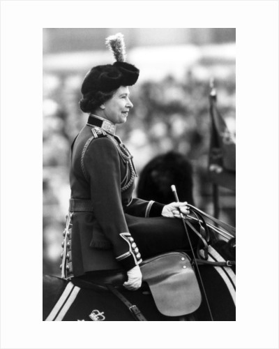 Trooping of the Colour ceremony 1980 by Daily Mirror