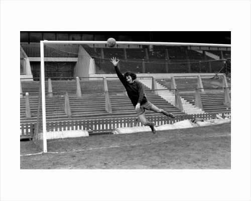 George Best in action 1972 by Staff