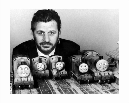 Thomas the Tank Engine Toys and Ringo Starr by Staff