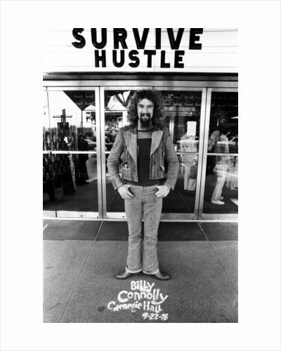 Billy Connolly in New York by Michael Brennan