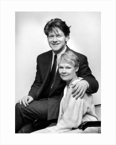 Dame Judi Dench and kenneth branagh at the Birmingham Repertory Theatre. by Randle