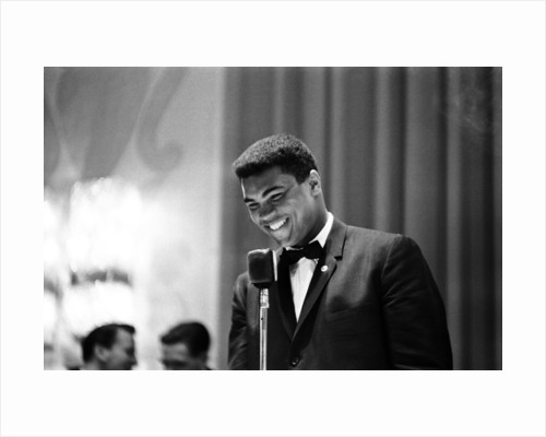 Cassius Clay in London May 1966 by Staff