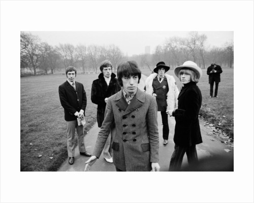 Rolling Stones in Green Park by Peter Stone