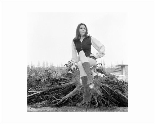 Diana Rigg by Victor Crawshaw