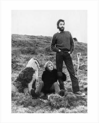 Paul and Linda McCartney 1971 by Daily Record