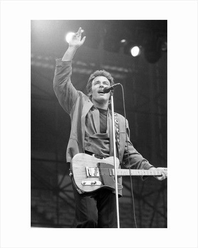 Bruce Springsteen by Birmingham Post and Mail Archive