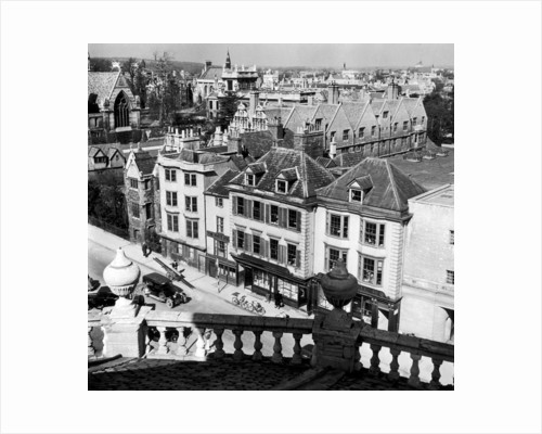 Oxford rooftops, circa 1935. by Staff