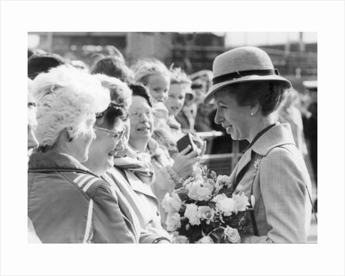 Princess Anne 1984 by Staff