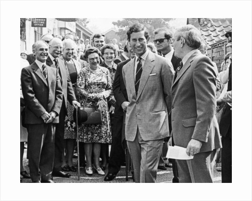 Prince Charles 1978 by Staff