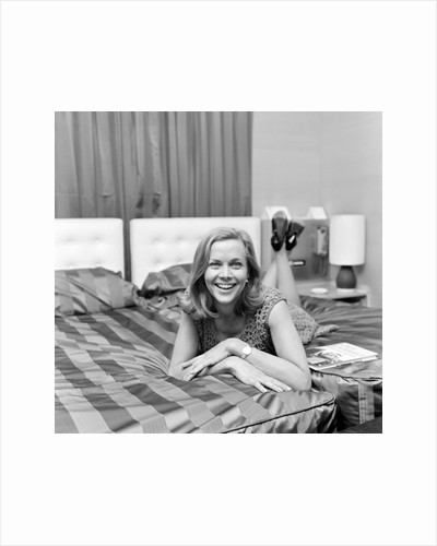 Honor Blackman by Dennis Hussey