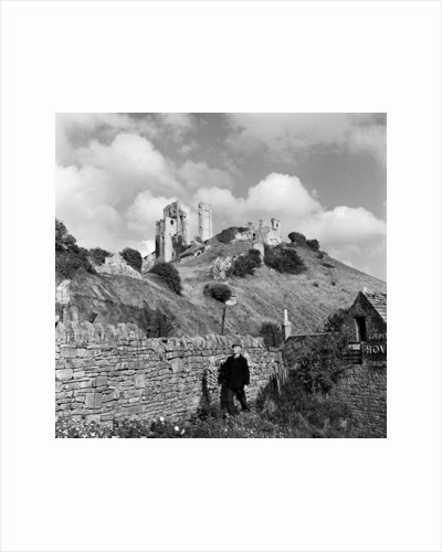 Corfe Castle, 1952 by unknown