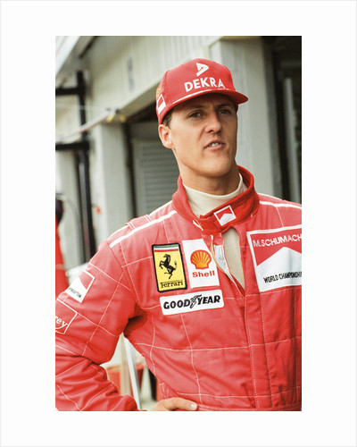 Michael Schumacher by Dale Cherry