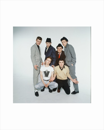Madness Pop Group 1980 by Kent Gavin