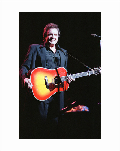 Johnny Cash 1989 by Allan Olley