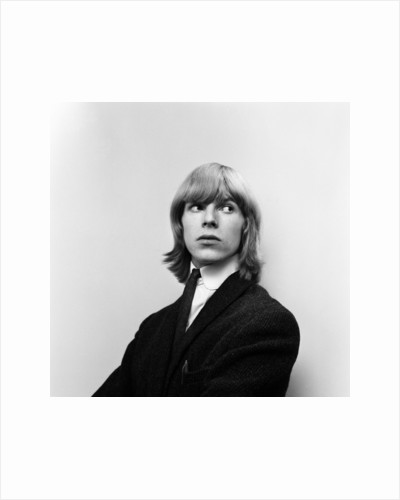 David Bowie 1965 by Alisdair MacDonald