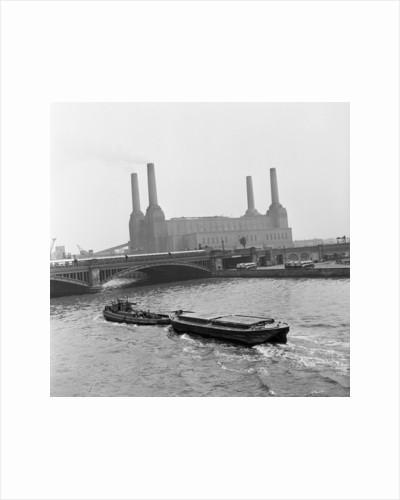 Battersea Power Station, 1954. by Bela Zola