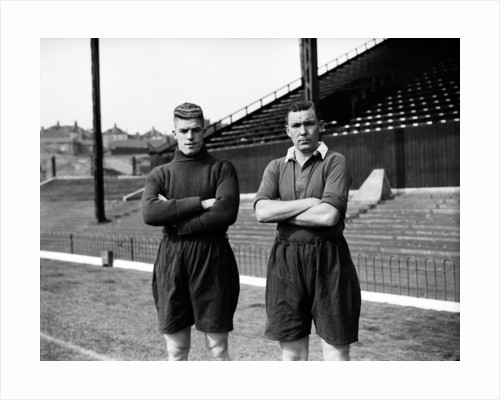 Sam Bartram and Bert Turner. by Reg Sayers