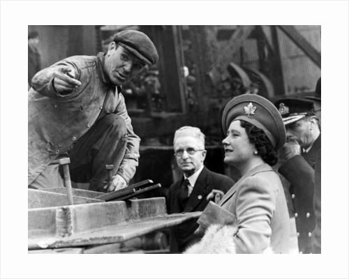 Queen Elizabeth The Queen Mother, 1943 by Staff