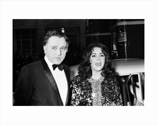 Elizabeth Taylor and Richard Burton by Weller