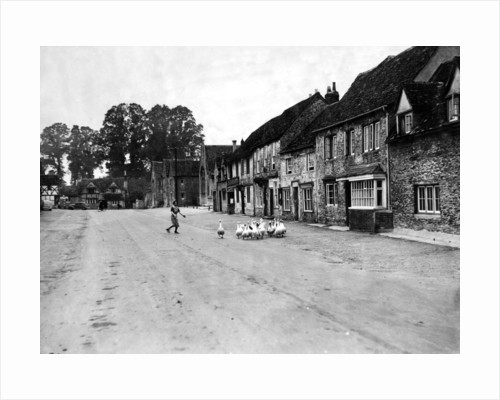 Laycock village, Wiltshire, 1944 by Staff