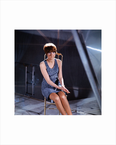 """Cilla Black pictured on the set of """"The Music of Lennon and McCartney"""" by Unknown"""