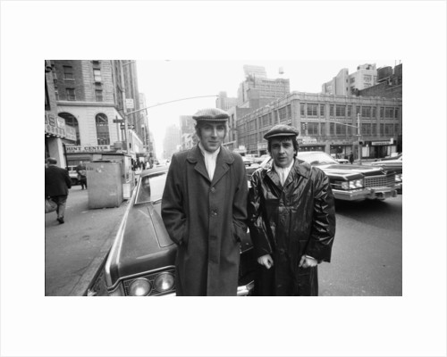 """Peter Cook and Dudley Moore as """"Pete and Dud' by Michael Brennan"""