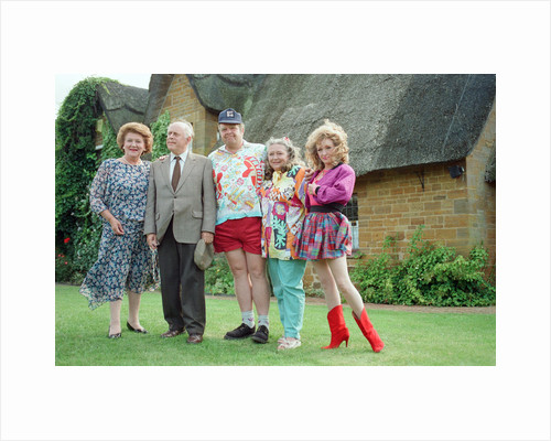 Photocall for new BBC production 'Keeping up Appearances' by Williams