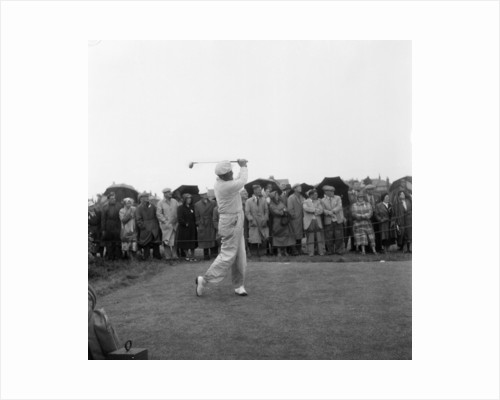 British Open 1952 by Ernest Chapman