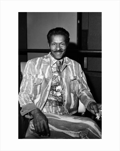 Chuck Berry, 1976 by Bill Kennedy
