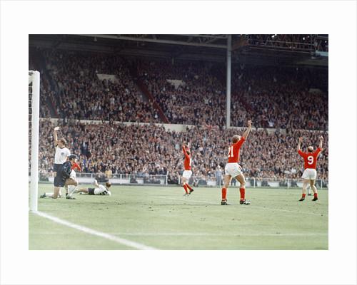 England International Football 1960s by John Varley