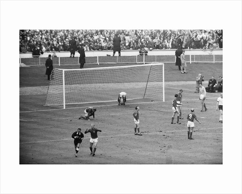 England v West Germany World Cup Final 1966 by Anonymous