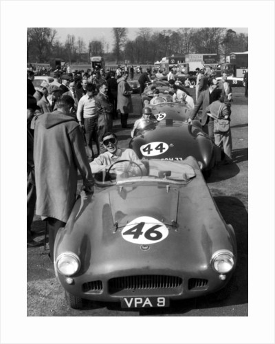 Motor racing at Oulton Park by Anonymous