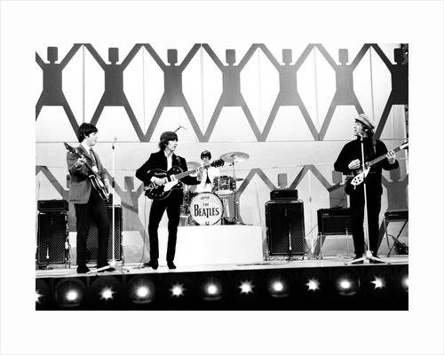 The Beatles performing at Blackpool Night Out by Staff