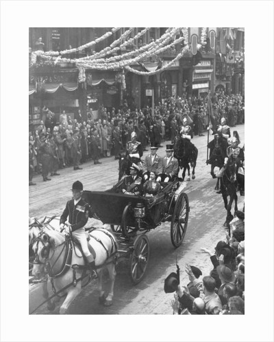 The Coronation of Queen Elizabeth II by Anonymous