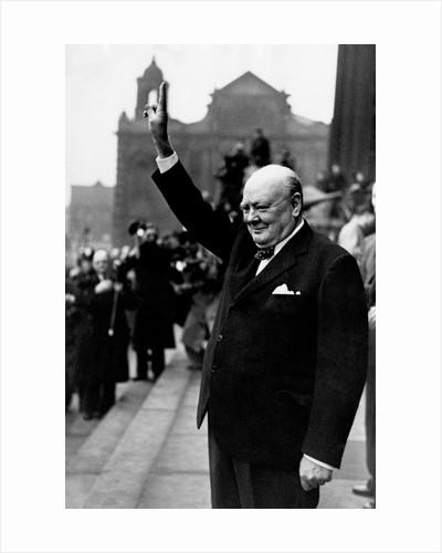 Winston Churchill by Daily Mirror