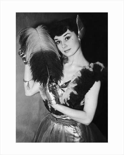 Audrey Hepburn by Staff