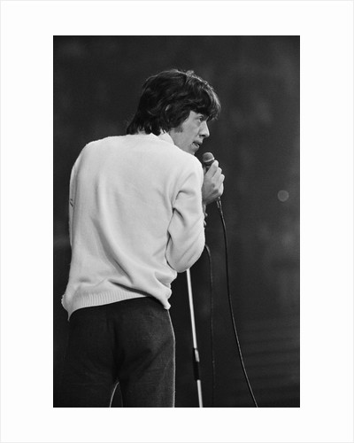 Mick Jagger at the New Musical Express Poll Winners Concert by Anonymous