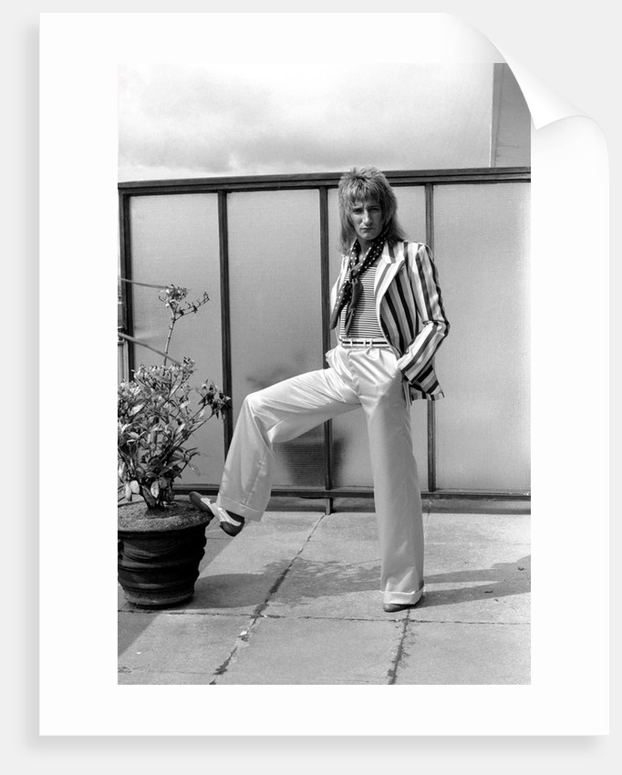 Rod Stewart by Anonymous