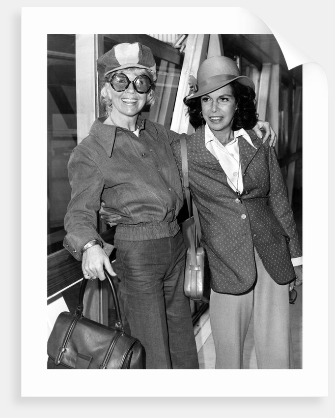 Doris Day and Jacqueline Susann by Anonymous