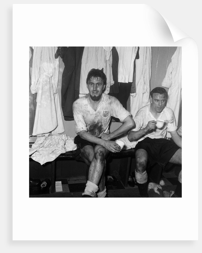 Jimmy Hill after getting a hat-trick by Anonymous
