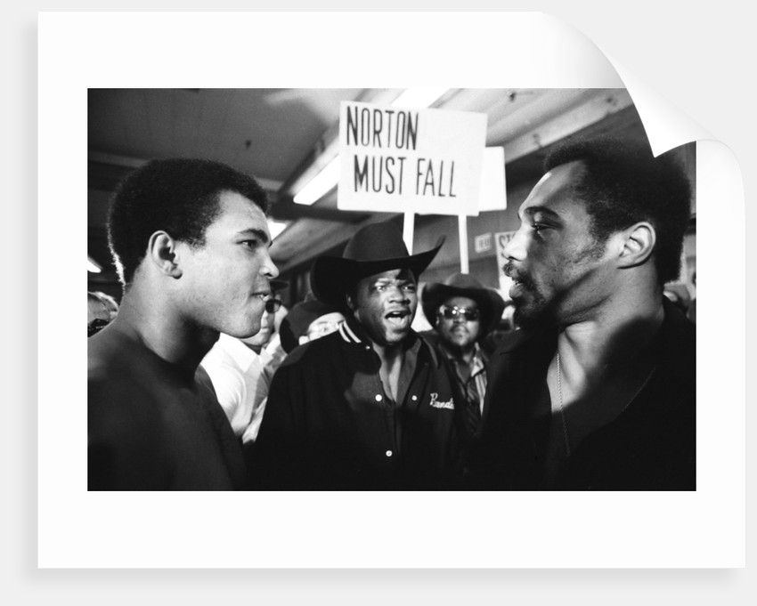 Muhammad Ali faces Ken Norton by Monte Fresco