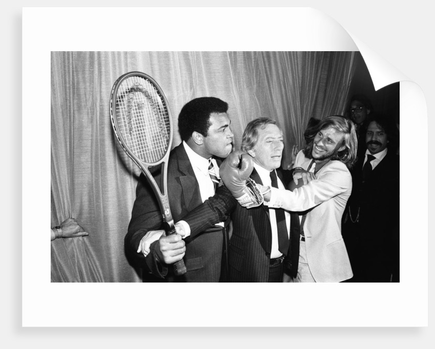 Andy Williams between Heavyweight Boxing champion and Bjorn Borg by Michael Daines