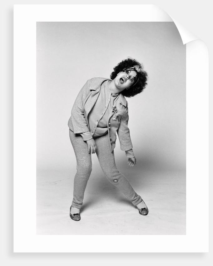 Poly Styrene Studio Portrait 1977 by Peter Stone