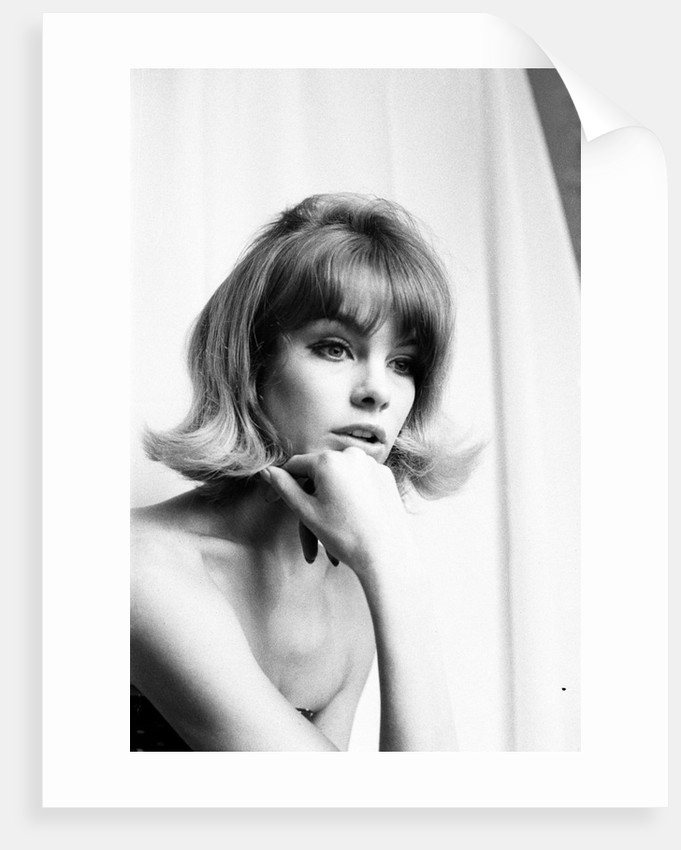 Jean Shrimpton 1963 by Robin Douglas-Home