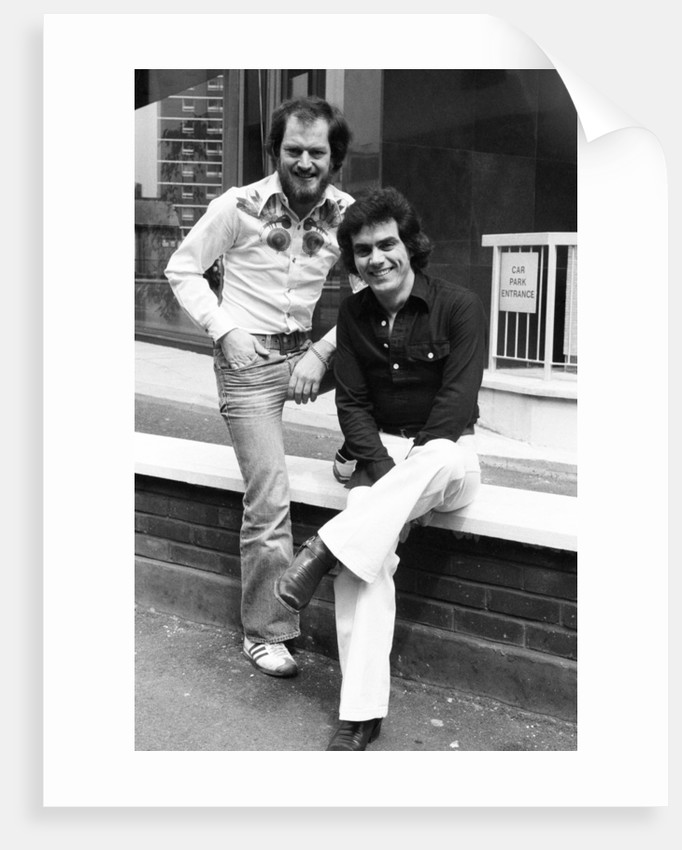 Benny Gallagher and Graham Lyle 1976 by Eric Piper