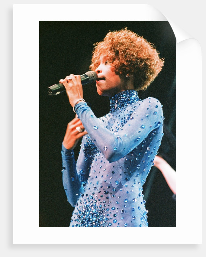 Whitney Houston 1991 by Taylor