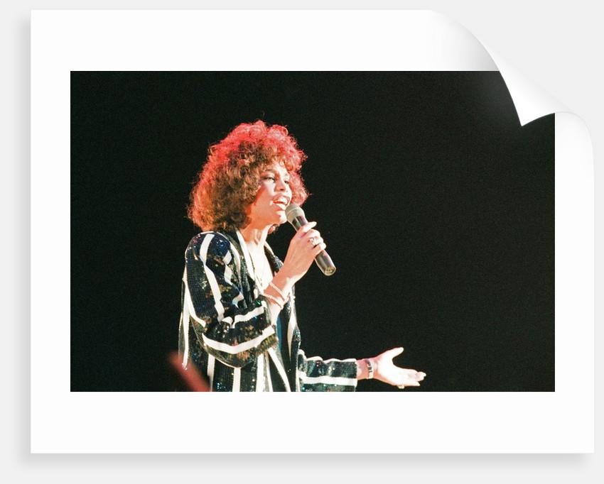 Whitney Houston by Williams
