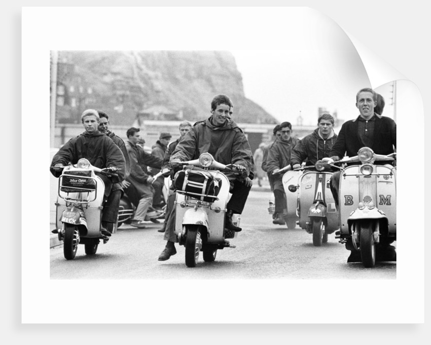Youth teenagers Mods by Alisdair MacDonald