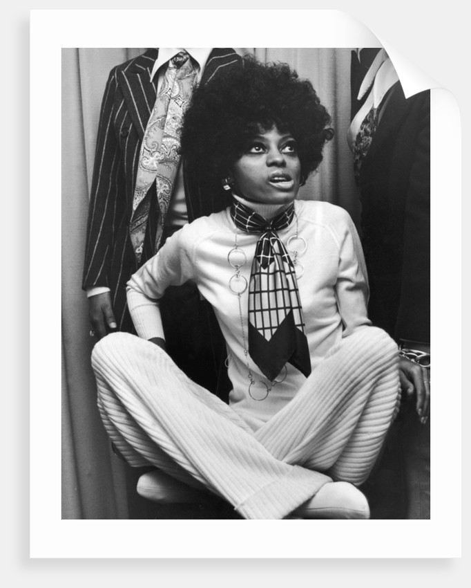 Diana Ross and Supremes 1968 by Gavin Kent
