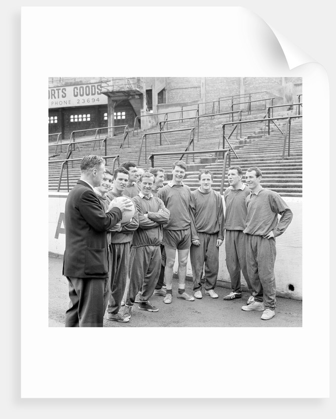 Southampton Football Players, Training Session, 15th March 1963. by Daily Herald